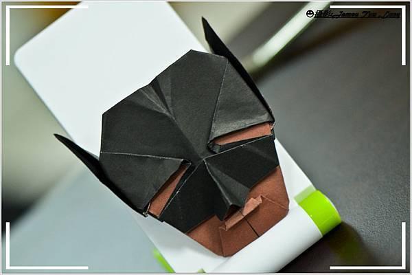 摺紙作品-蝙蝠俠