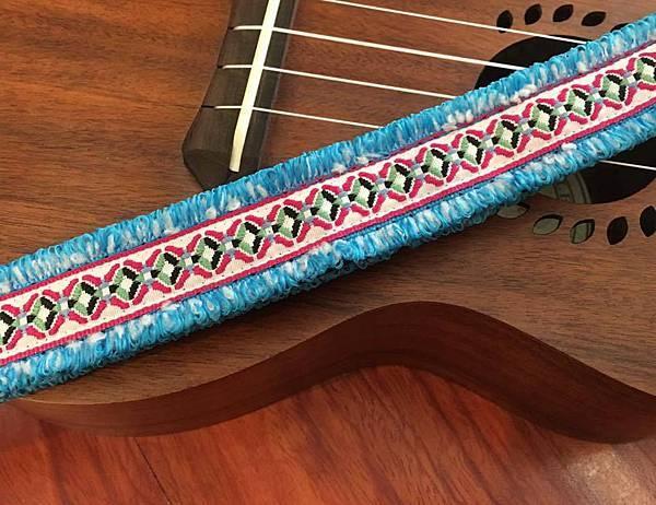 原住民圖紋風編織背帶2-2