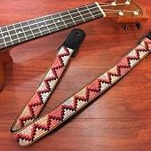 原住民圖紋風編織背帶3-1