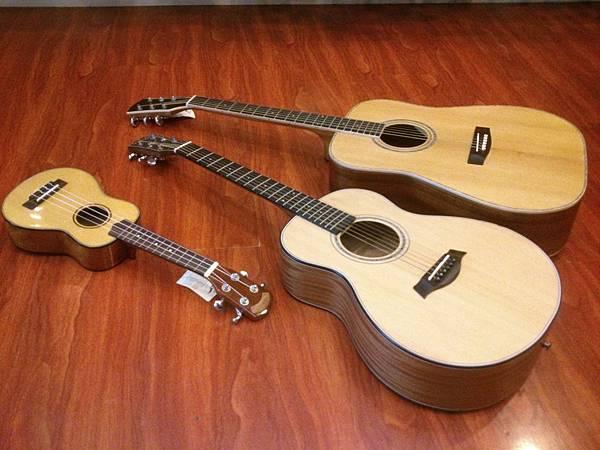 phoebe旅行吉他 尺寸對照