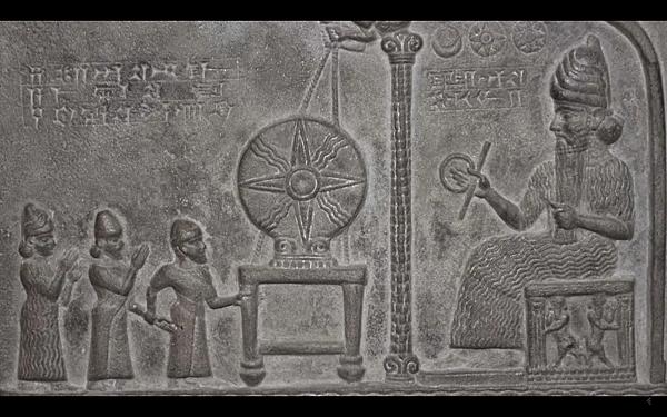 蘇美人所雕刻描繪的阿努納奇人