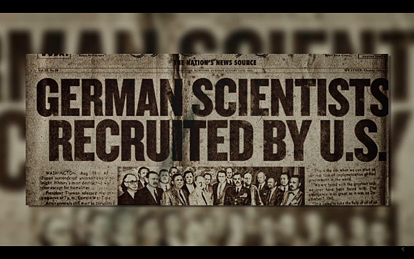二戰後美國招聘納粹德國的科學家