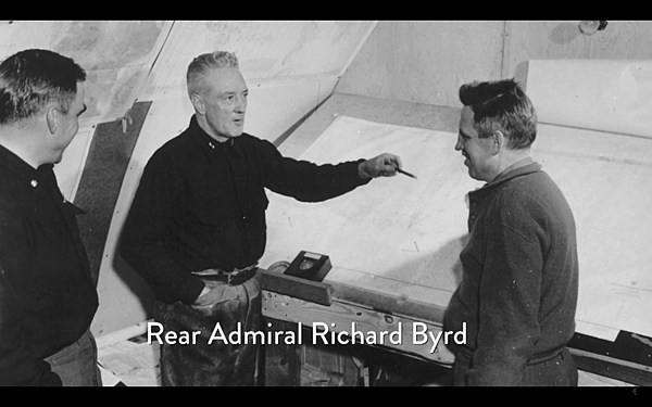 李察.伯德少將(Rear Admiral Richard Byrd).