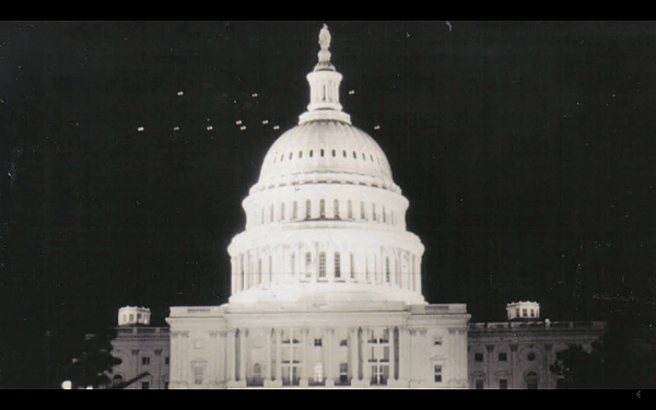 1952年7月12日到7月19日晚上在華盛頓上空出現不明飛行物的事