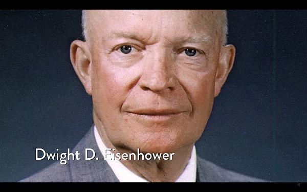 美國第34任總統(1953年-1961年)艾森豪威爾(Dwight David Eisenhower)