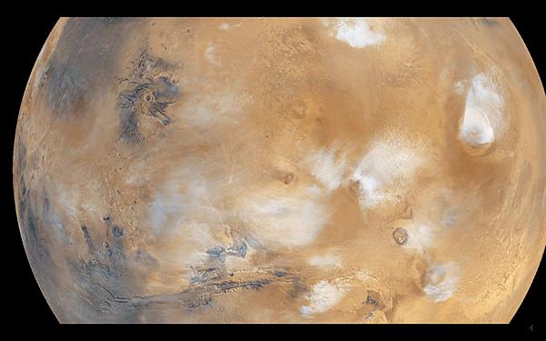 神秘火星的演說