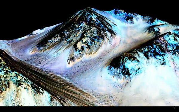NASA火星上存在水