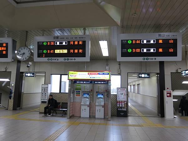 桂車站指標