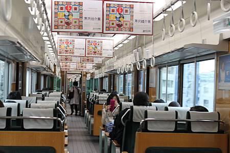 阪急線內裝