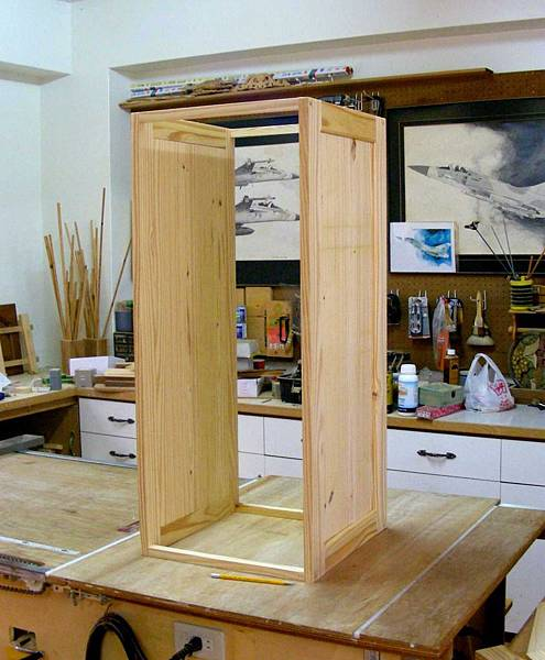 木工零件櫃 004