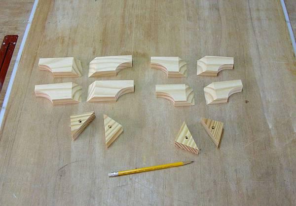 木工零件櫃 006