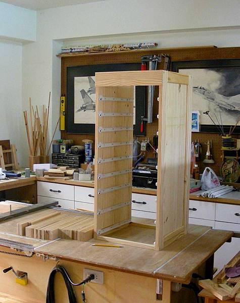 木工零件櫃 005