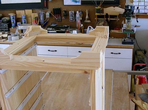 木工零件櫃 010