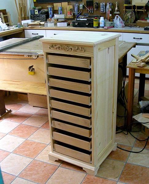 木工零件櫃 011