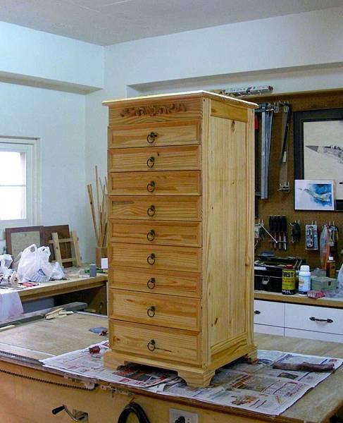 木工零件櫃 015