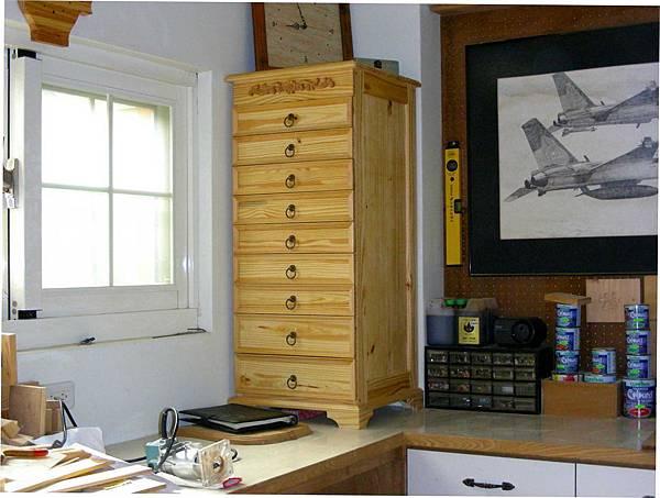 木工零件櫃 016