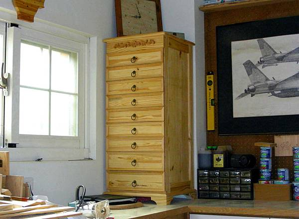 木工零件櫃 001