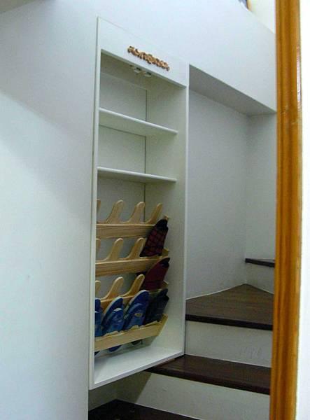 樓梯間的鞋櫃 012