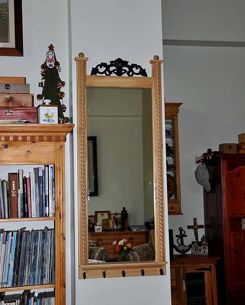 歐式復古鏡 001