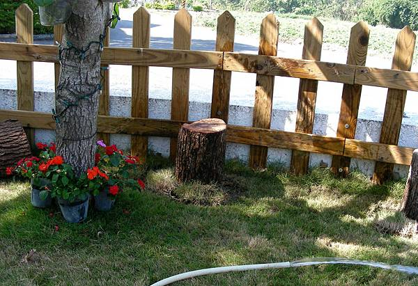 花園中的長板凳 004