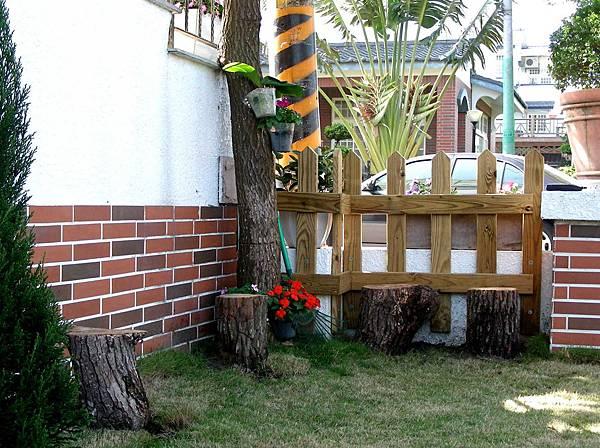 花園中的長板凳 006