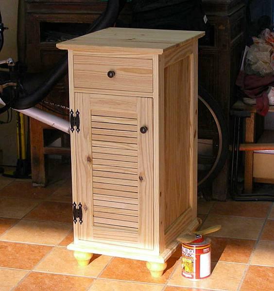 洗手間的收納櫃 012