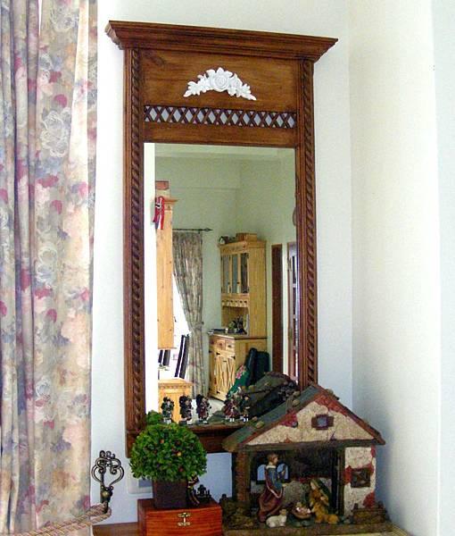 復古風的壁鏡 001