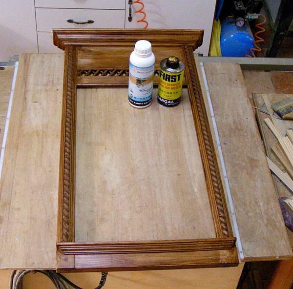復古風的壁鏡 012