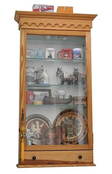 紀念品展示櫃 001