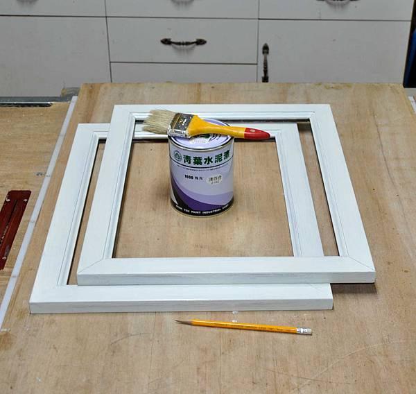 彩繪玻璃櫃 003