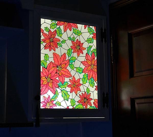 彩繪玻璃櫃 010