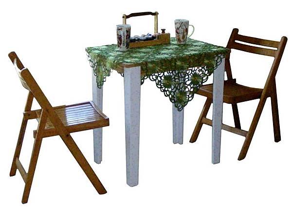 鄉村風的小雅座桌 001