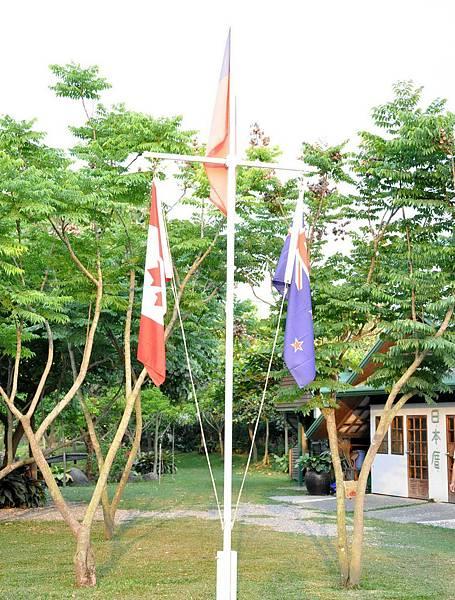 13三個國家的國旗