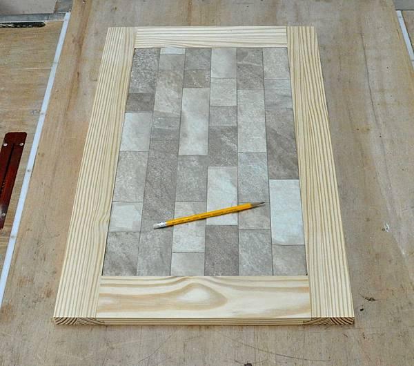 磁磚玻璃櫃 004