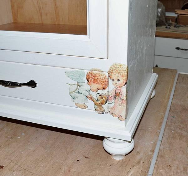 磁磚玻璃櫃 015