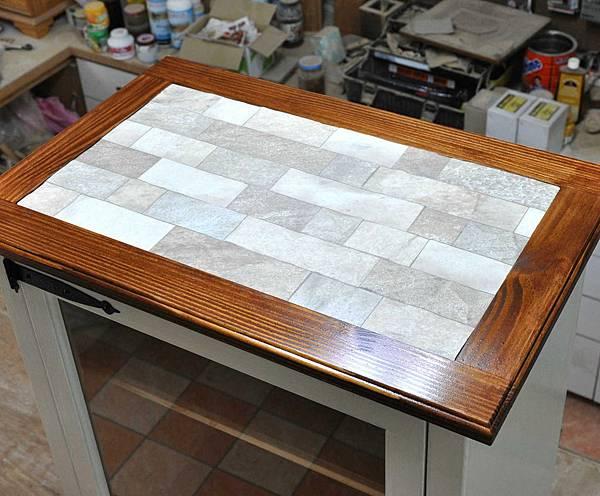 磁磚玻璃櫃 017