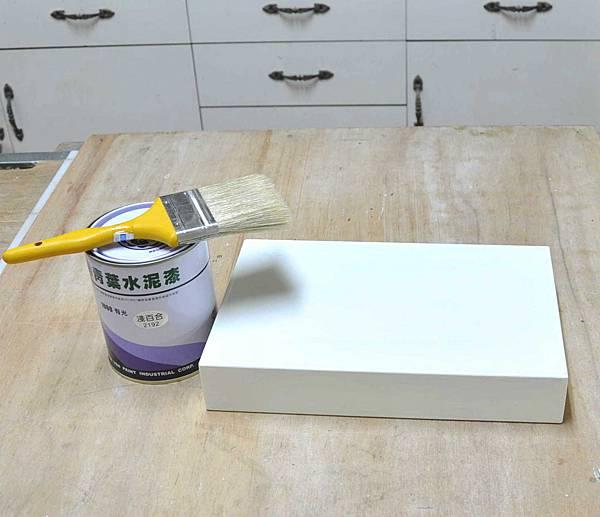 簡易拼貼木盒 003