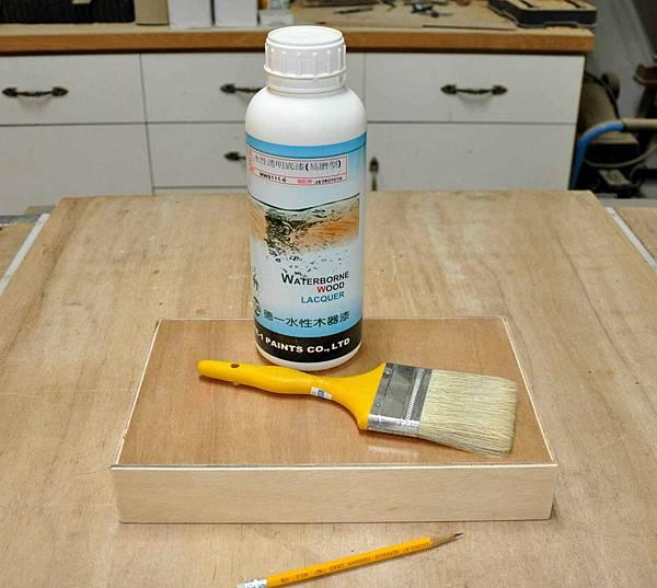 簡易拼貼木盒 002