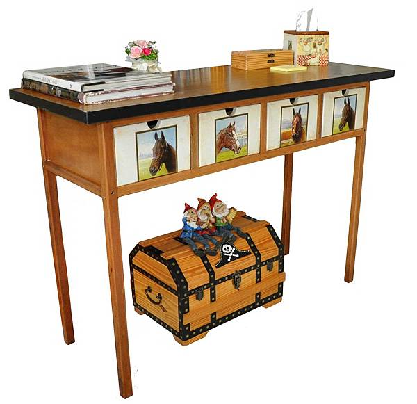 會議桌變身書桌 001