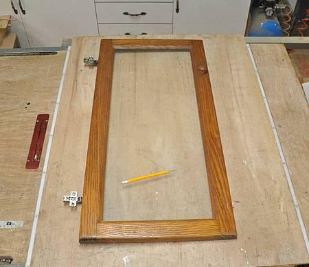 玻璃門櫃 003
