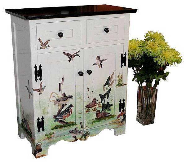 拼貼小木櫃