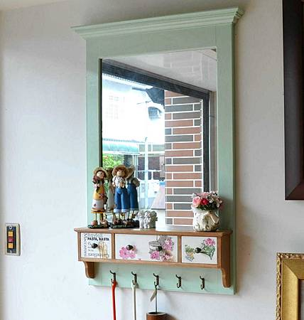 鄉村風壁鏡 014