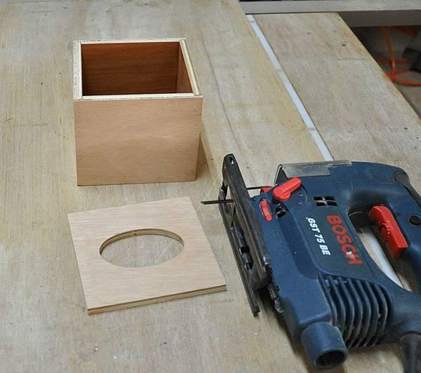 鄉村風餐巾紙盒 004