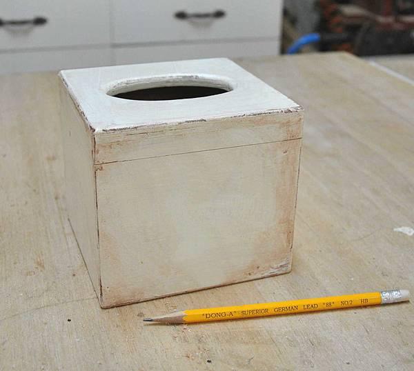 鄉村風餐巾紙盒 007