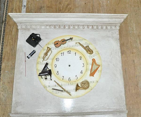 時鐘鏡 011