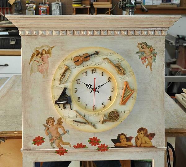 時鐘鏡 012