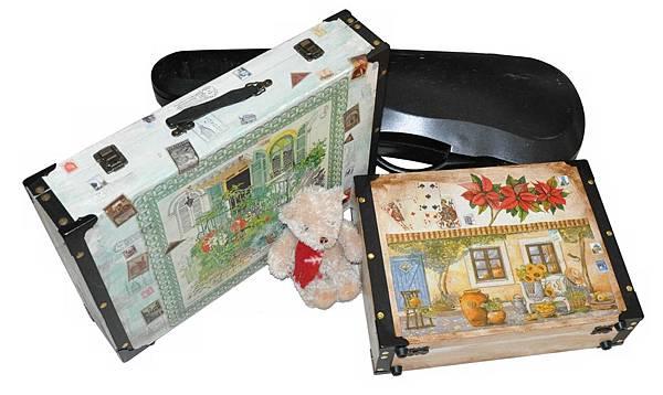 木製手提箱
