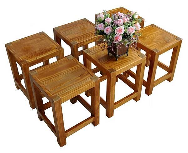鄉村風板凳DIY 001