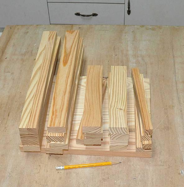 鄉村風板凳DIY 002