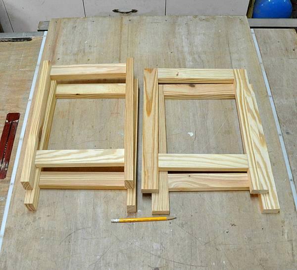鄉村風板凳DIY 003
